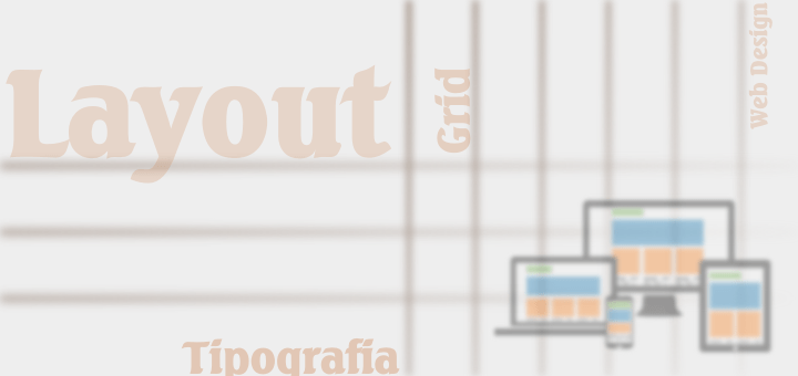 Layout Tipografia Design Grid